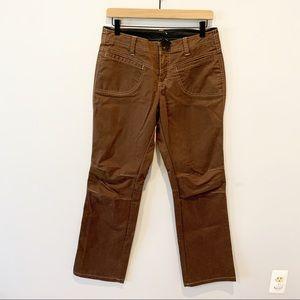 Kuhl Brown Straight Leg Hiking Pants